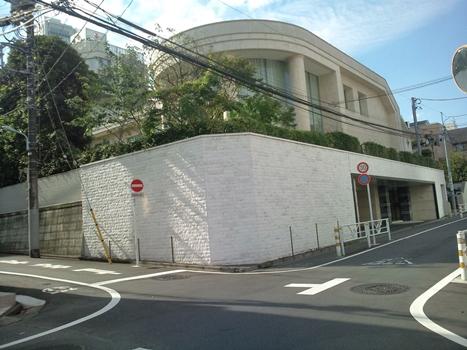 渋谷・松濤の豪邸