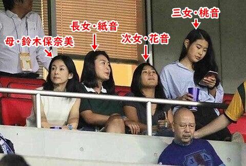 石橋3姉妹と、母・鈴木保奈美