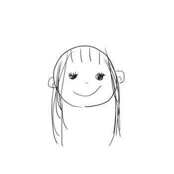 りりあ。のYouTube用の顔アイコン