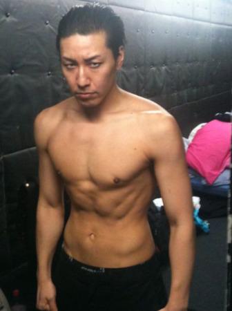 チョコプラ長田の筋肉