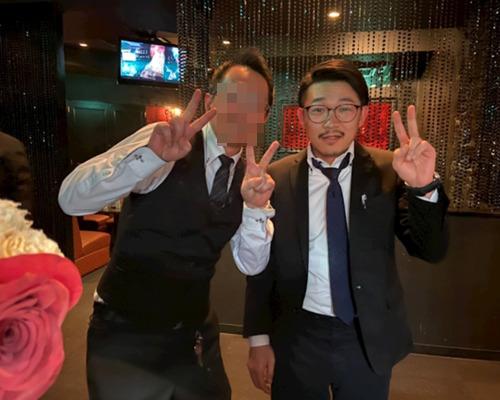 オズワルド伊藤とキャバクラの店長