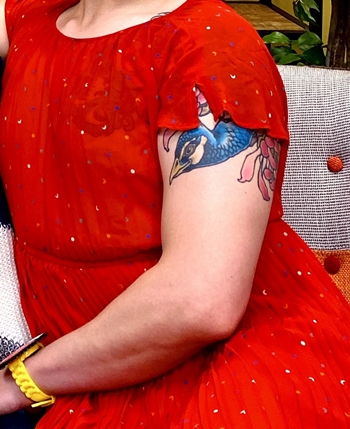 ブリアナギガンテのタトゥー