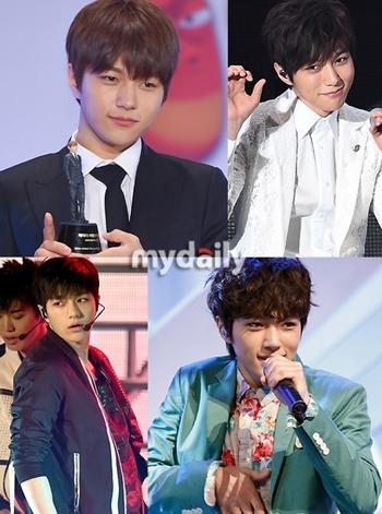 韓国の男性アイドル